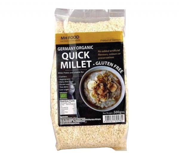 MH Food Germany Organic Quick Millet Cereal & Oats GRAINS & CEREALS Malaysia, Selangor, Kuala Lumpur (KL), Petaling Jaya (PJ) Manufacturer, Wholesaler, Supplier, Importer | Matahari Sdn Bhd