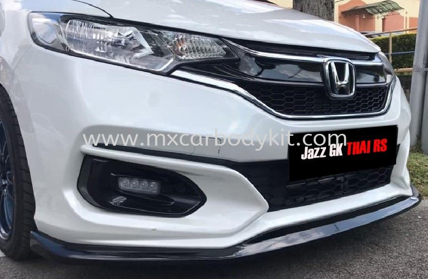 HONDA JAZZ 2017 THAI RS FRONT LIP  JAZZ 2017  HONDA Johor, Malaysia, Johor Bahru (JB), Masai. Supplier, Suppliers, Supply, Supplies | MX Car Body Kit