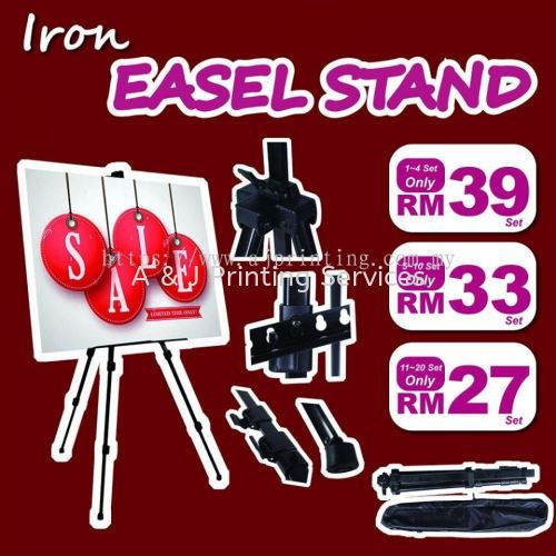 Special Offer Easel Stand RM 27 only MOQ : 1PC