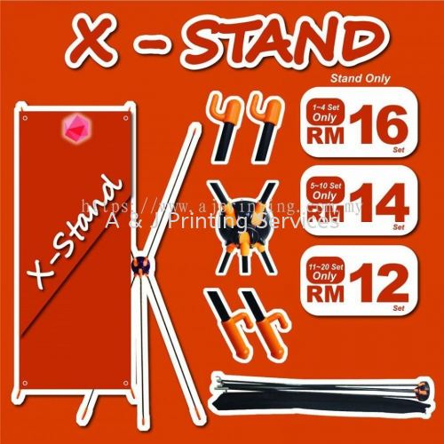 Special Offer X-Stand RM 12 only MOQ : 1PC