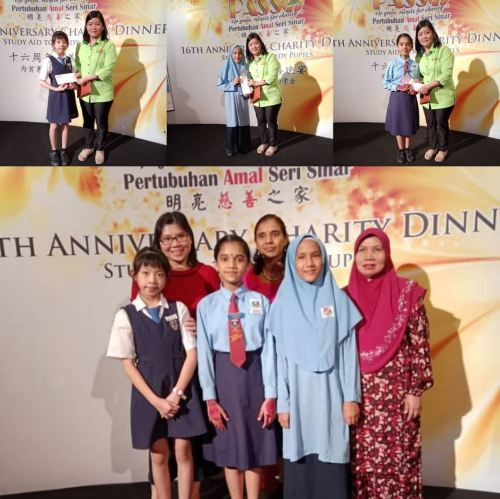 09.11.2019 PASS 16th Anniversary Charity Dinner - Study Aid to Needy Pupils