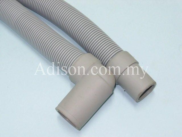 Code: 32504-2 Drain Hose (L) Type 2.25 Meter Inlet Hose / Drain Hose Washing Machine Parts Melaka, Malaysia Supplier, Wholesaler, Supply, Supplies | Adison Component Sdn Bhd