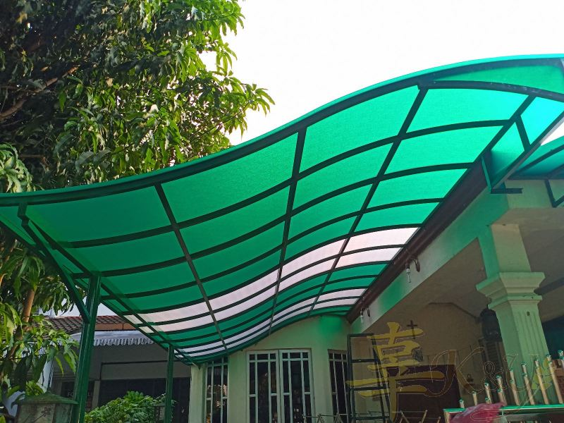 Mild Steel Polycarbonate Skylight Polycarbonate Skylight Selangor, Malaysia, Kuala Lumpur (KL), Semenyih Service, Contractor, Supplier, Supply | K & Y Awning Renovation