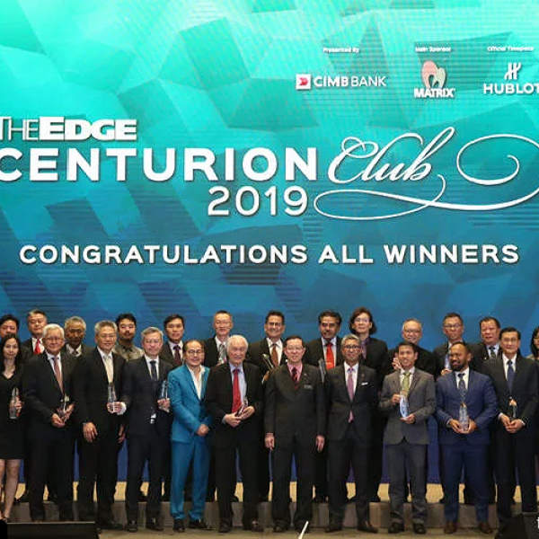 The Edge¡¯s inaugural Centurion Club Awards honours mid-cap companies Others Malaysia News | SilkRoad Media