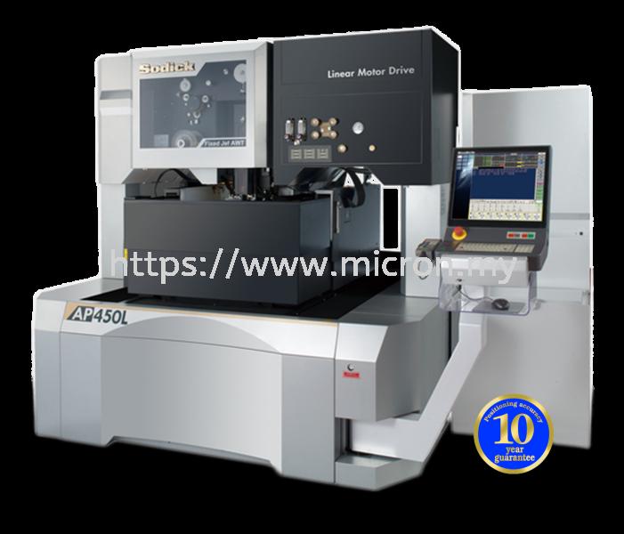 AP450L (Oil) AP SERIES CNC WIRE CUT EDM SODICK EDM MACHINE Malaysia, Selangor, Kuala Lumpur (KL), Penang, Johor Bahru (JB), Puchong Supplier, Suppliers, Supply, Supplies | Micron Machines Technology Sdn Bhd