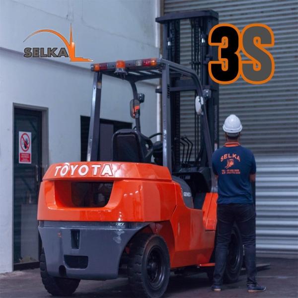 TOYOTA 5 TON DIESEL FORKLIFT Diesel Forklifts  Forklift Rental Johor Bahru (JB), Seremban, Malaysia Supplier, Supply, Rental, Repair | Selka Equipments Sdn Bhd