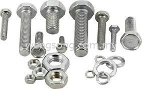 Stainless steel Bolt and nuts Pipes And Fittings Accessories Water Supply Division Kuala Lumpur (KL), Malaysia, Selangor Supplier, Suppliers, Supply, Supplies | WENGSONG CORPORATION SDN BHD