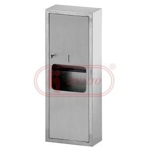 Towel Dispenser - PTD-801S Hygienic Toilet & Bathroom Accessories Malaysia, Selangor, Kuala Lumpur (KL), Semenyih Distributor, Supplier, Supply, Supplies | Evershine Stainless Steel Sdn Bhd