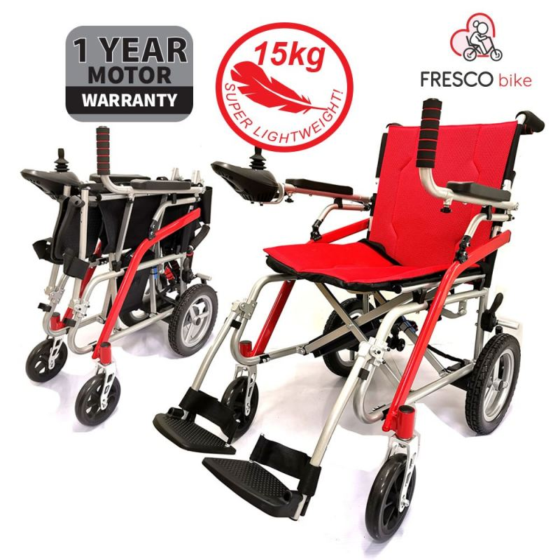 FRESCO ELECTRIC WHEELCHAIR LIGHTEST WEIGHT MAGNESIUM ALLOY ELECTRIC WHEELCHAIR
