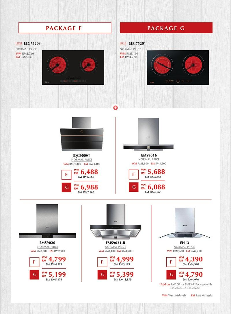 Package F/Package G Package Fotile Electrical Appliances Selangor, Malaysia, Kuala Lumpur (KL), Shah Alam Contractor, Services, Supplier, Company | Reno Concept Sdn Bhd