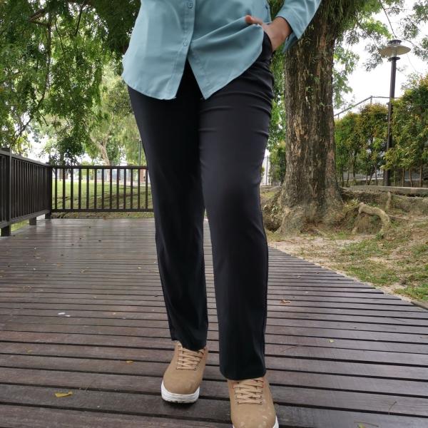 Black 8012 Slim Fit Stretchable Pants Malaysia, Selangor, Kuala Lumpur (KL), Ampang Pembekal, Membekal | P & P Fashion