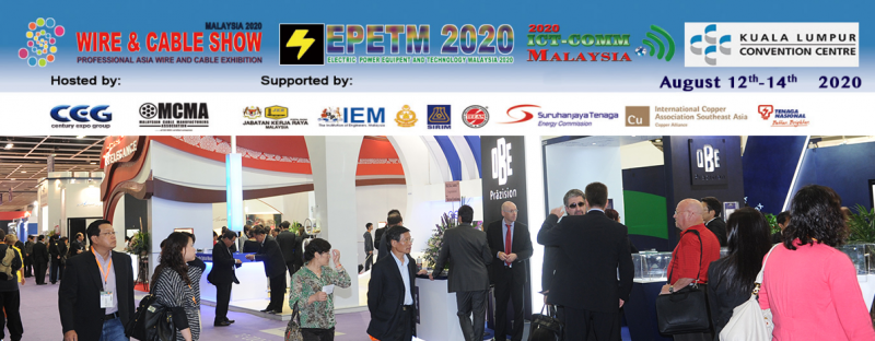 Wire & Cable Show Malaysia 2020 August 2020 Malaysia Future, Upcoming, Fair, Exhibition   NEWEVENT MALAYSIA