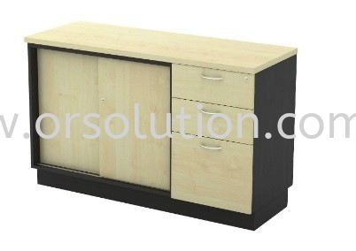 Side Cabinet Cabinet Johor Bahru (JB), Malaysia, Kempas Supplier, Suppliers, Supply, Supplies | OR Solution