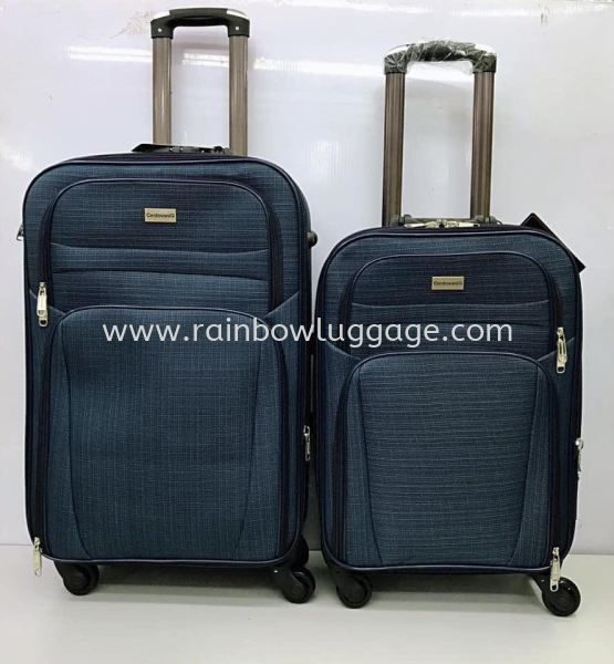 Polyester Blue 2 in 1  Polyester Luggage Luggages Johor Bahru (JB), Malaysia, Johor Jaya Supplier, Suppliers, Supply, Supplies | Rainbow Wholesale Store Sdn Bhd