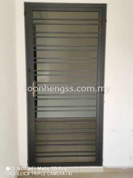 SINGLE DOOR METAL WORKS Johor Bahru (JB), Skudai, Malaysia Contractor, Manufacturer, Supplier, Supply | Soon Heng Stainless Steel & Renovation Works Sdn Bhd