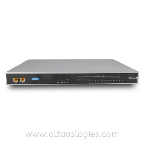 Carrier-class VoIP Gateway SIP Protocol 16 and 32 FXS FXO Ports VoIP Gateway 2G/3G/4G Cellular IP Modem & Router Network Communication Solutions Selangor, Malaysia, Kuala Lumpur (KL), Petaling Jaya (PJ) Supplier, Master Distributors, Supply, Supplies | ALTAAS Topologies Sdn Bhd