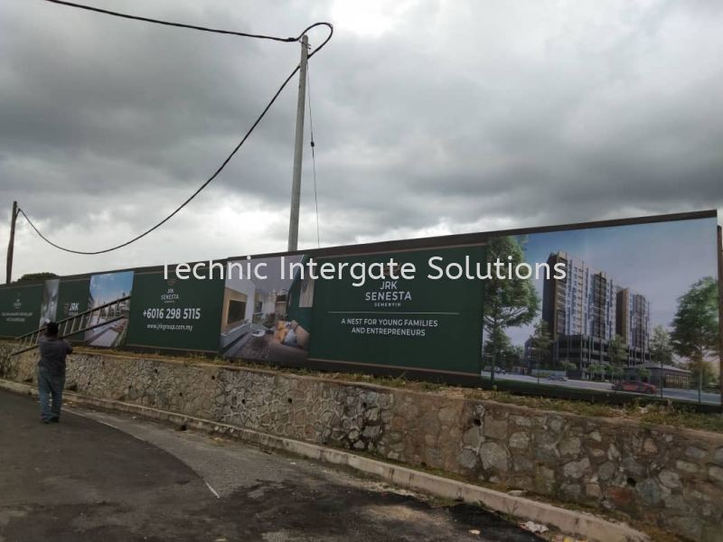 Hoarding Installation  Hoarding Signage Kuala Lumpur (KL), Malaysia, Selangor, Mont Kiara Manufacturer, Supplier, Supply, Supplies | Intergate Solutions Sdn Bhd