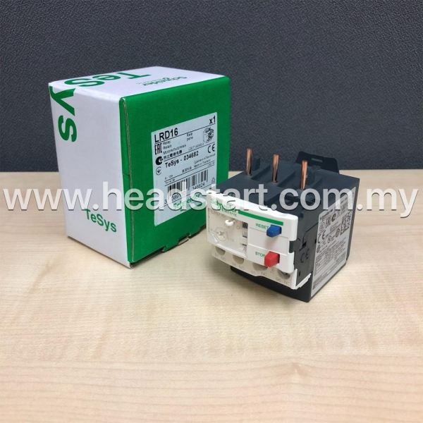 SCHNEIDER THERMAL OVERLOAD RELAY LRD16 MALAYSIA SCHNEIDER Selangor, Kuala Lumpur (KL), Shah Alam, Malaysia Supplier, Suppliers, Supply, Supplies | Headstart Technologies Sdn Bhd
