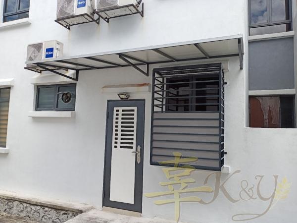 Mild Steel Door and Window Door and Window Selangor, Malaysia, Kuala Lumpur (KL), Semenyih Service, Contractor, Supplier, Supply | K & Y Awning Renovation