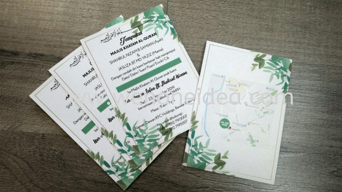 Invitation Card Double Side Invitation Card Offset Digital Print Johor Bahru Jb Malaysia Austin Perdana