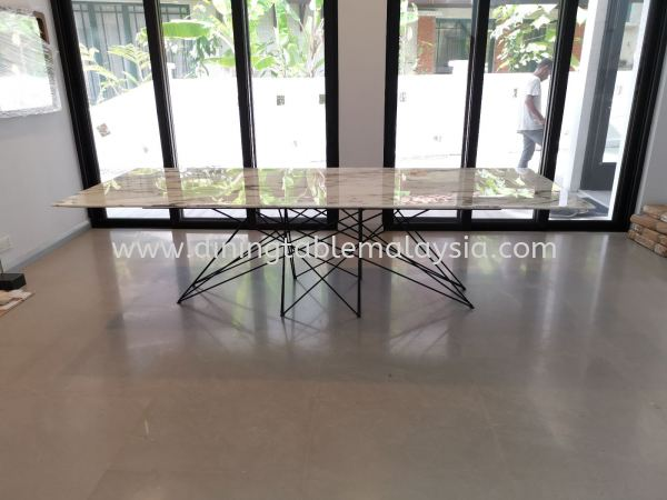 Modern Marble Dining Table  Marble Dining Table Malaysia, Selangor, Kuala Lumpur (KL), Petaling Jaya (PJ) Supplier, Suppliers, Supply, Supplies | DeCasa Marble Sdn Bhd
