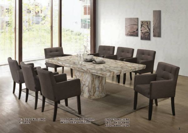 1021 T&L (390) + S816 Dining Table Kedah, Malaysia, Sungai Petani Supplier, Suppliers, Supply, Supplies | MM 99 FURNITURE