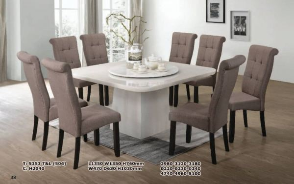 5353 T&L (504) + H2040 Dining Table Kedah, Malaysia, Sungai Petani Supplier, Suppliers, Supply, Supplies | MM 99 FURNITURE
