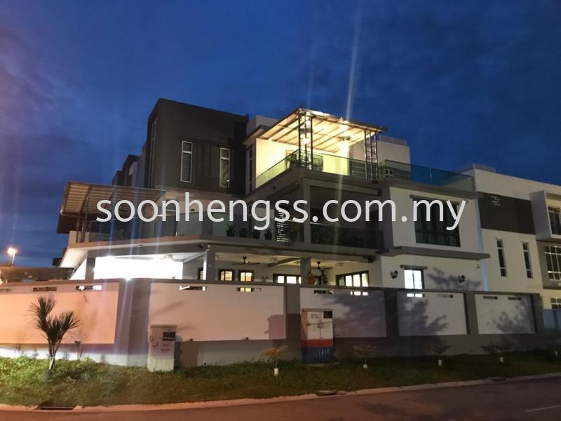 ALUMINIUM COMPOSITE PANEL AWNING STAINLESS STEEL Johor Bahru (JB), Skudai, Malaysia Contractor, Manufacturer, Supplier, Supply   Soon Heng Stainless Steel & Renovation Works Sdn Bhd