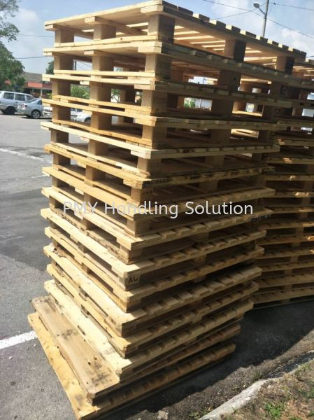 Pallet Rental Used Wooden Pallet Used Pallet Selangor, Kuala Lumpur, KL, Malaysia. Supplier, Suppliers, Supply, Supplies | PMY Handling Solution
