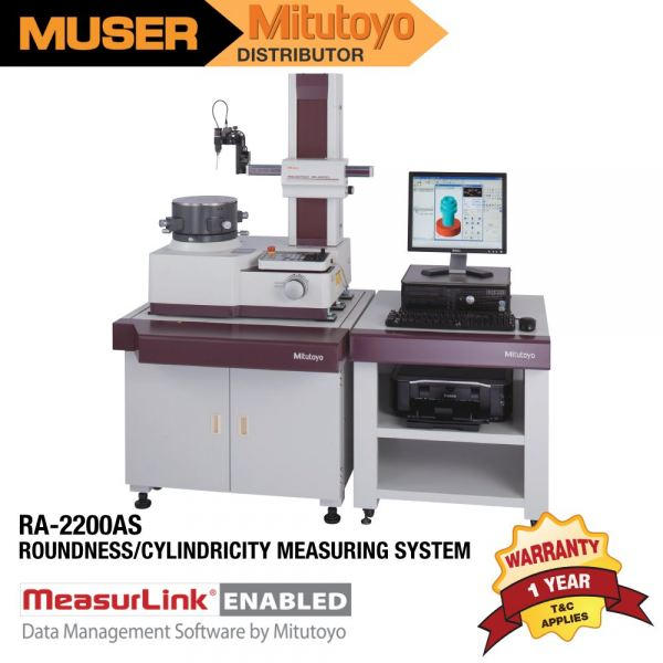 Mitutoyo RA-2200AS Roundness/Cylindricity Measuring System Roundtest Mitutoyo Kuala Lumpur (KL), Malaysia, Selangor, Sunway Velocity Supplier, Suppliers, Supply, Supplies   Muser Apac Sdn Bhd