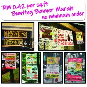 Bunting Banner Printing Murah