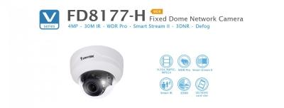 FD8177-H. Vivotek Fixed Dome Network Camera
