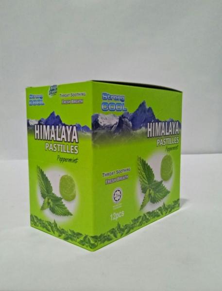 Himalaya Pastilles Peppermint  Himalaya Candy & Nuts Johor, Kulai, Malaysia Supply Supplier Suppliers   NJ Nature Juice Sdn Bhd