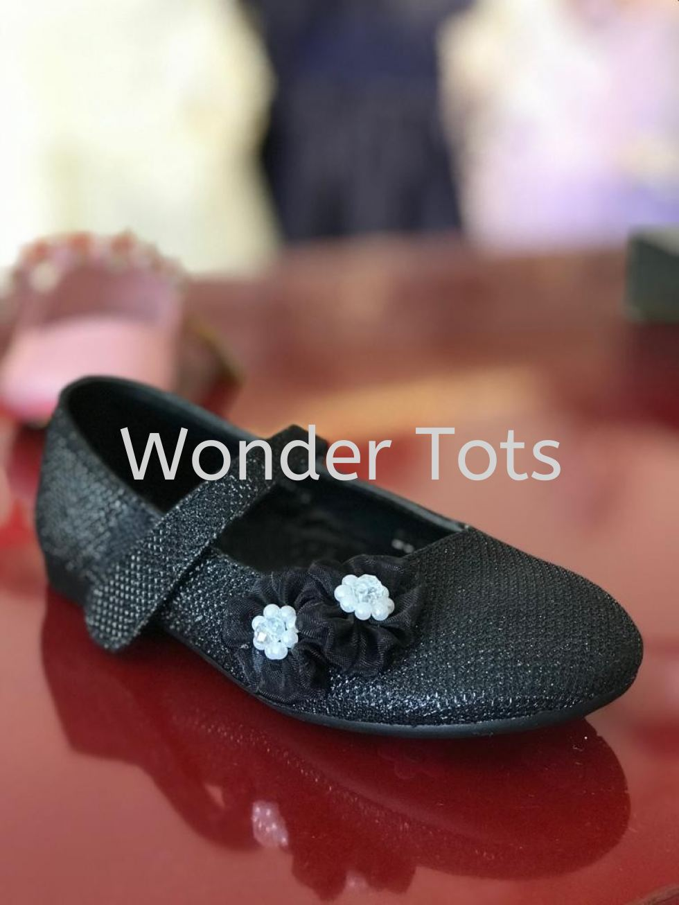 Girl Shoes - Black -0157
