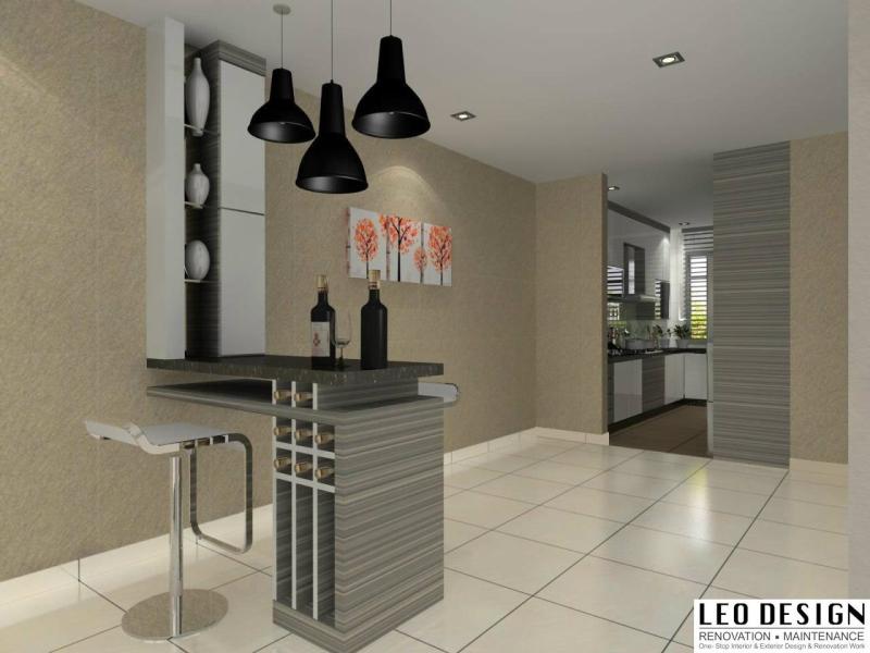 适合马来西亚的厨房设计3D参考图 厨房 3D设计图    | HomeBagus - Home and Deco ONLINE EXPO!