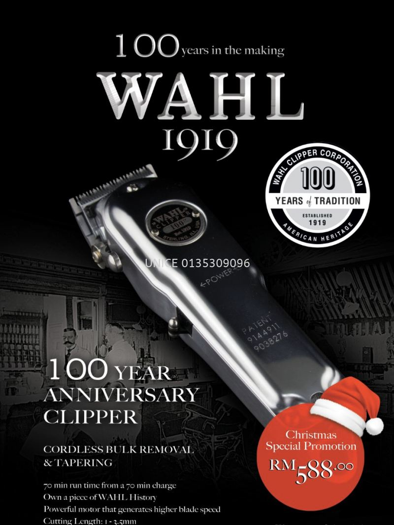 Wahl 1919 100Year Anniversary Clipper