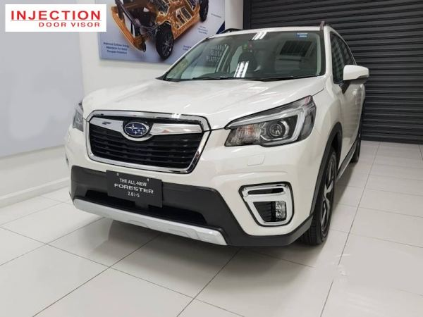 SUBARU FORESTER 19Y-ABOVE  = INJECTION DOOR VISOR WITH STAINLESS STEEL LINING SUBARU INJECTION Malaysia, Selangor, Kuala Lumpur (KL), Semenyih Manufacturer, Supplier, Supply, Supplies | Venttec Supply (M) Sdn Bhd