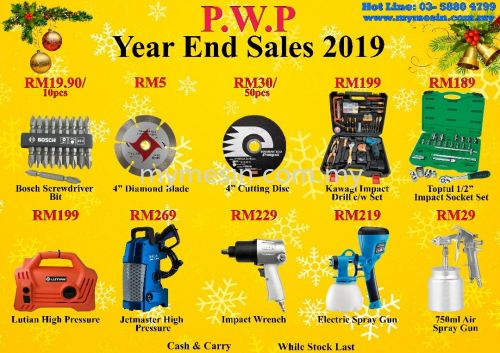 Mymesin : Year End Sales