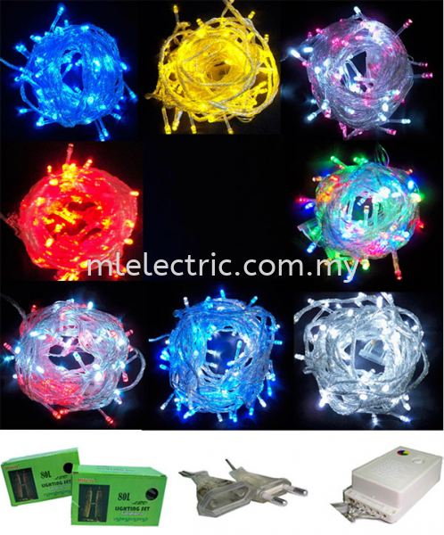Minlite 9901 80l/4F 8m LED Chasing Light c/w Controller & End connector CHRISTMAS LIGHT LED LIGHTING Selangor, Malaysia, Kuala Lumpur (KL), Batu Caves Supplier, Suppliers, Supply, Supplies   ML Electric Sdn Bhd