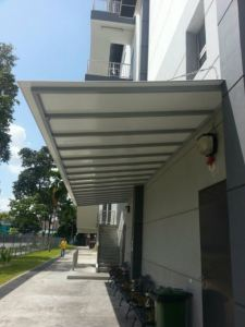 Supply & installation ACP roofing