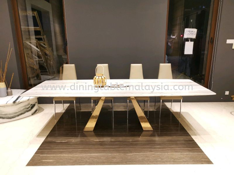 10 to 12 Seater Luxury Marble Dining Table  Marble Dining Table Malaysia, Selangor, Kuala Lumpur (KL), Petaling Jaya (PJ) Supplier, Suppliers, Supply, Supplies | DeCasa Marble Sdn Bhd
