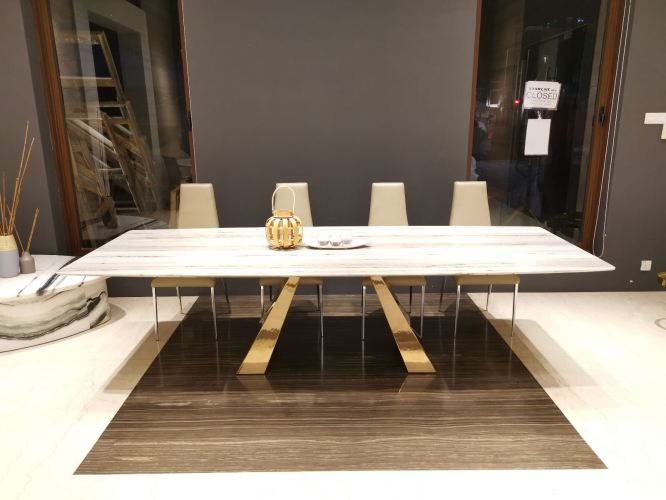 Luxury Marble Dining Table 10 to 12 Seater