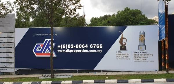 Large Size Billboard Billboard Signages Selangor, Malaysia, Kuala Lumpur (KL), Batu Caves Manufacturer, Maker, Design, Supplier | CP Sign Construction