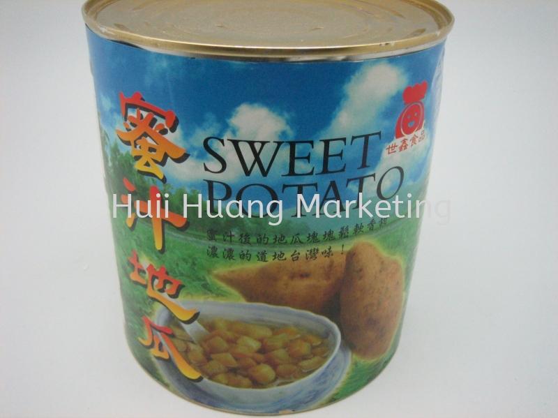 Sweet Potato Lump 蜜汁地瓜 Can Product 罐头系列 Kuala Lumpur (KL), Malaysia, Selangor, Cheras Supplier, Suppliers, Supply, Supplies   Huii Huang Marketing Sdn Bhd