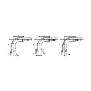 752 90¡ãORFS Female Flat Seat Hydraulic Fitting Malaysia, Selangor, Kuala Lumpur (KL), Puchong Supplier, Manufacturer, Supply, Supplies | ST Hydraulic & Engineering Sdn Bhd