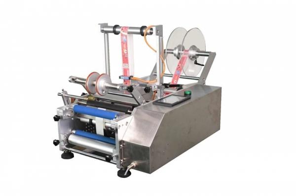 DX-413 Semi-automatic round bottle labeling machine Labeling Machine Labeling & Date Printer Machine Penang, Malaysia, Selangor, Kuala Lumpur (KL), Perai, Shah Alam Supplier, Suppliers, Supply, Supplies | Kimah Industrial Supplies (M) Sdn Bhd