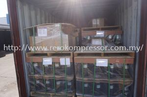 A FULL CONTAINER LOAD OF RECHI ROTARY COMPRESSOR TO INDONESIA