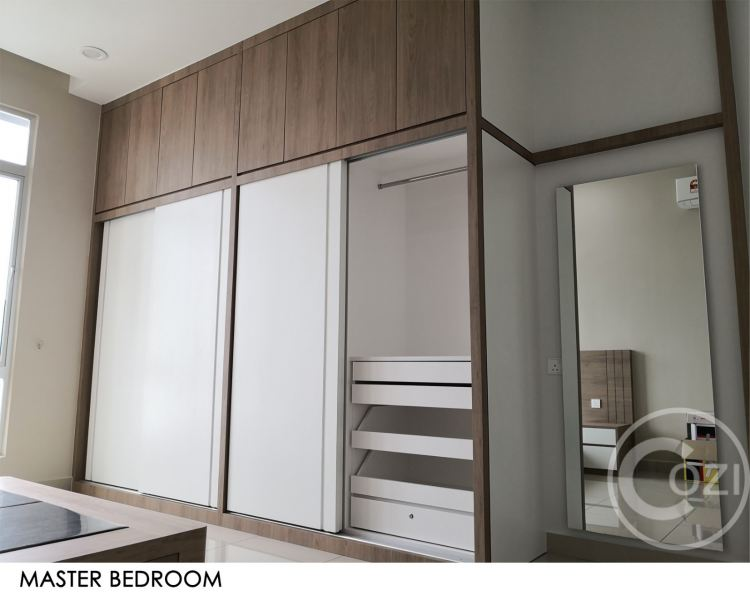 BM city Condo Renovation work Bedroom Interior Design (residential) Penang, Malaysia, Butterworth Design, Renovation, Contractor, Services | Cozi Design Sdn Bhd