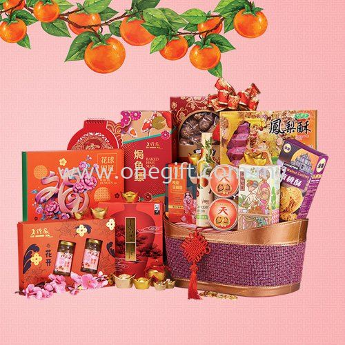E15 Chinese New Year Hamper Malaysia, Selangor, Kuala Lumpur (KL), Shah Alam Supplier, Suppliers, Supply, Supplies | The One Gift Gallery Sdn Bhd