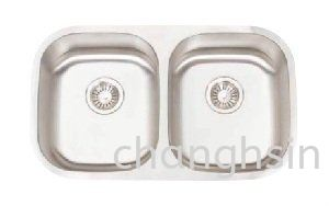 DOUBLE BOWL (CH3018F) HIGH GRADE SERIES SINKS Malaysia, Kedah, Kulim Supplier, Manufacturer, Supply, Supplies | Chang Hsin Industry (M) Sdn Bhd